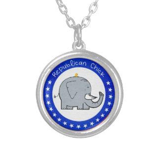 republican chick necklace