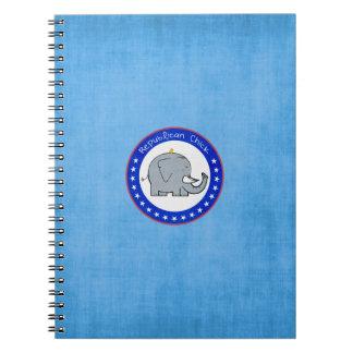 republican chick notebook
