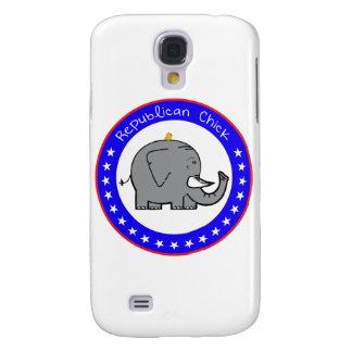 republican chick samsung s4 case