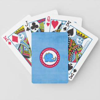 republican chicks bicycle playing cards