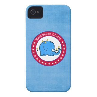 republican chicks iPhone 4 cover