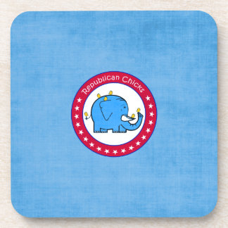 republican chicks coaster