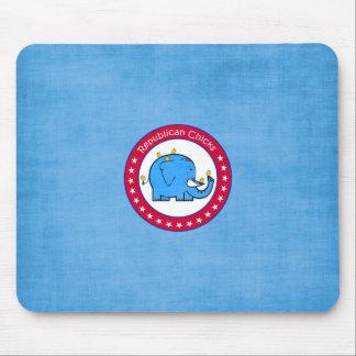 republican chicks mousepad