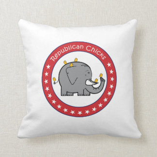 republican chicks pillow