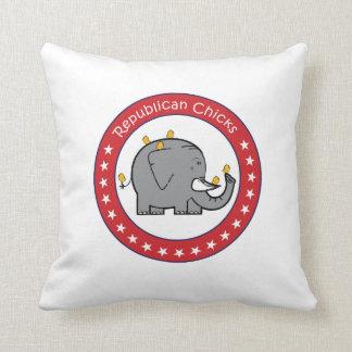 republican chicks pillow