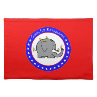 republican chicks placemat