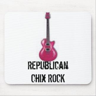 Republican Chix ROCK Mouse Pad