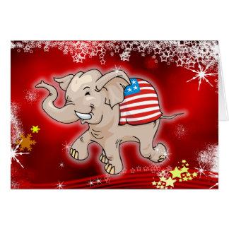 Republican Christmas Card