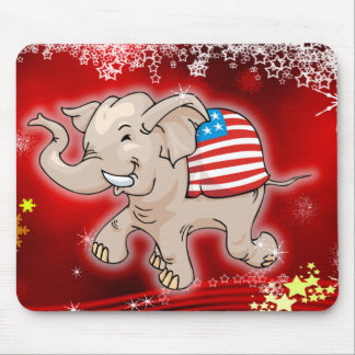 Republican Christmas Mouse Pad