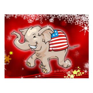 Republican Christmas Post Card