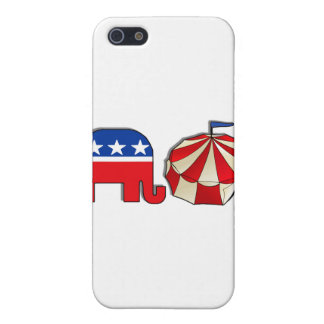 Republican Circus Elephant and Tent Case For iPhone SE/5/5s