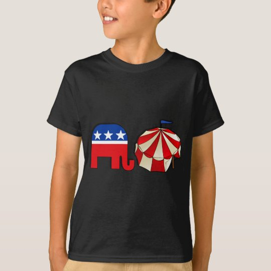 Republican Circus Elephant T-Shirt