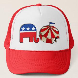 Republican Circus Elephant Trucker Hat