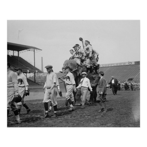 Republican Congressional Baseball Team 1926 Poster