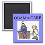 republican conservative anti obama joke 2 inch square magnet