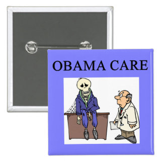republican conservative anti obama joke pinback button