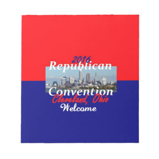 Republican Convention 2016 Notepad