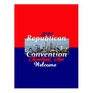 Republican Convention 2016 Postcard