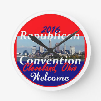 Republican Convention 2016 Round Clock
