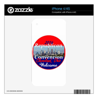 Republican Convention 2016 Skin For The iPhone 4S