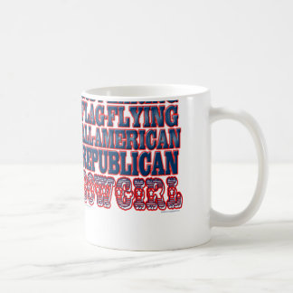 """REPUBLICAN COWGIRL"" COFFEE MUG"