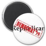 Republican: DEMOCRAT Fridge Magnets