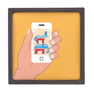 Republican Democrat Smartphone Gift Box