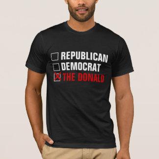 REPUBLICAN DEMOCRAT THE DONALD T-Shirt