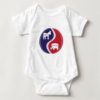 Republican  Democrats Working Together Baby Bodysuit