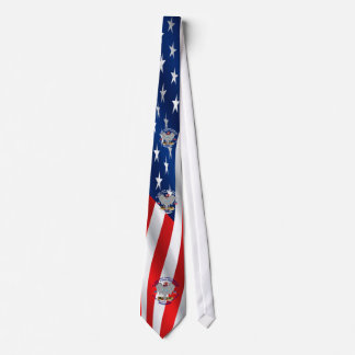 Republican Design is centered in the safe area Neck Tie