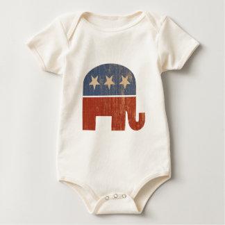 Republican Elephant 2012 Election Baby Bodysuit