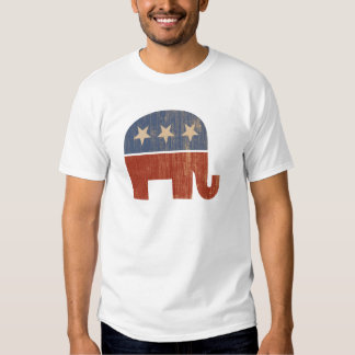 Republican Elephant 2012 Election T Shirts