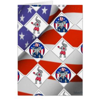 Republican Elephant Champion Card