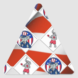 Republican Elephant Champion Stickers