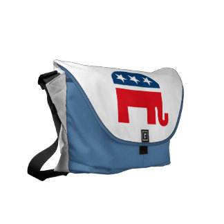 Republican Elephant Courier Bag