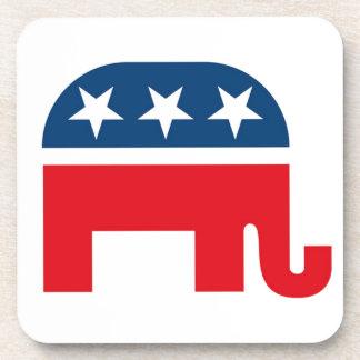 Republican Elephant Drink Coaster