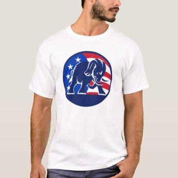 Republican_Gifts Republican Elephant Flag T-Shirt