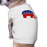 Republican Elephant / GOP Elephant Dog T-shirt