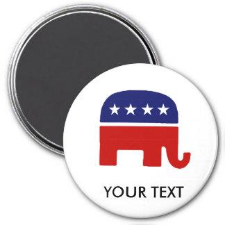 Republican Elephant / GOP Elephant Fridge Magnets