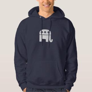 Republican Elephant Hoodies