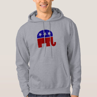 Republican Elephant Hoodies