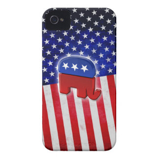 Republican Elephant iPhone 4 Case-Mate Case