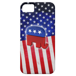 Republican Elephant iPhone SE/5/5s Case