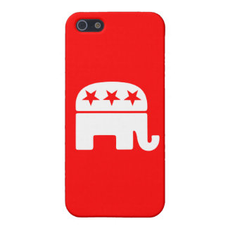 Republican Elephant iPhone SE/5/5s Cover