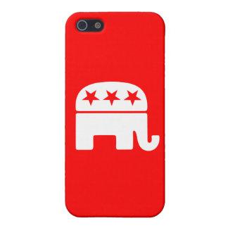 Republican Elephant iPhone SE/5/5s Cover