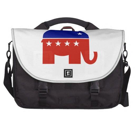 Republican Elephant Laptop Commuter Bag