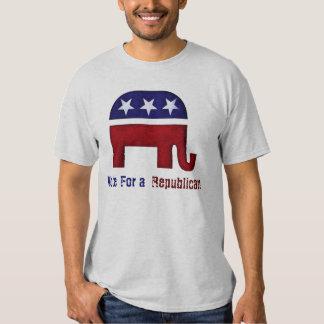 Republican elephant logo t-shirts