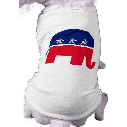 Republican Elephant Pet Clothing