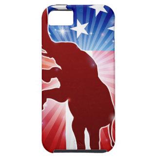 Republican Elephant Political Mascot iPhone SE/5/5s Case