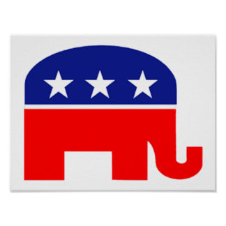 republican elephant poster